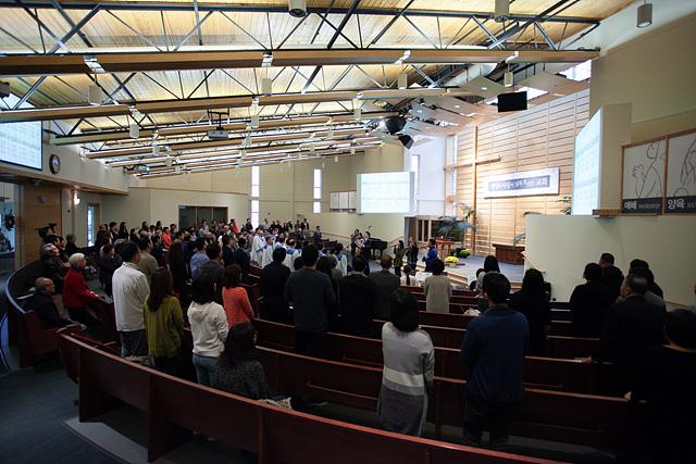 합부 예배 및 교회 대청소