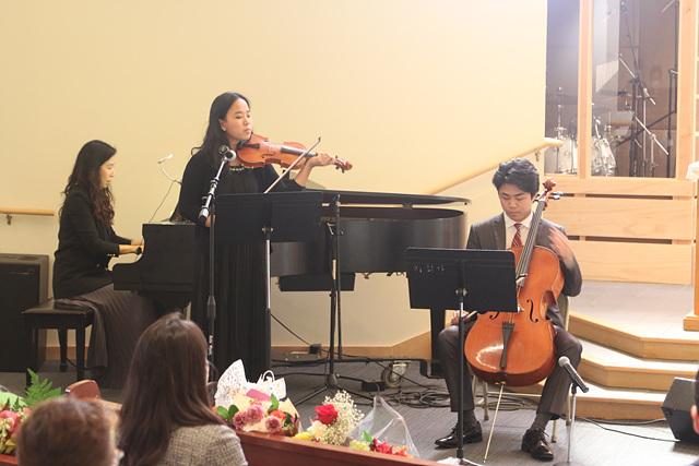 세레 및 은퇴식 축하연주